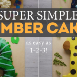Number Cakes Made Simple As 1,2,3