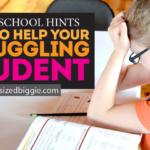 Homeschool Hints: Help Your Struggling Student