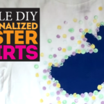 Simple DIY Easter Shirt for Somebunny Special!