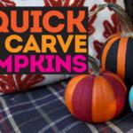 7 Quick and Easy No Carve Pumpkin Ideas